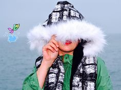 Furry B&N scoodie by CiervaUK on Etsy Winter Hats, Etsy, Shopping, Fashion, Moda, Fasion, Trendy Fashion, La Mode