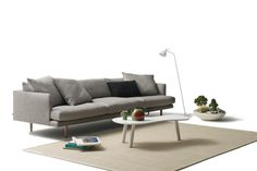 Jardan's Nook Sofa - Beautifully constructed, great slim profile for people who live in small spaces, custom-made plus you're supporting Australian design!  What more could you want!