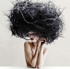 very hairy   VICTOR DEMARCHELIER - Fashion Photography - Hair/Beauty