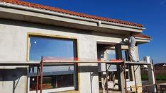 Casa pe parter in Corbeanca | CoArtCo House Foundation, Design Case, Architect Design, Home Fashion, Gazebo, House Plans, Outdoor Structures, House Styles, Outdoor Decor
