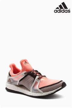 Coral adidas Pure Boost X