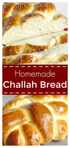 Challah Bread - A Beautiful And Impressive Bread Made With Just 6 Simple Ingredients. This Classic Jewish Bread Is Great For Sandwiches, French Toast, And More Homemade Bread Recipe Challah Bread Recipe Easy Bread Challah Bread Recipes, Easy Bread Recipes, Easy French Bread Recipe, French Toast Challah Bread, Homemade French Bread, Bread Bun, Sandwiches, Jewish Bread, Gourmet