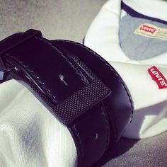 #Levis and #KASPARI #Carbonfiber buckle mens belt