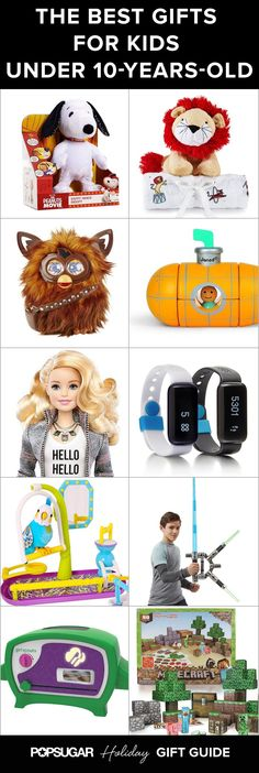 The Best Gifts For Kids Under 10 Years Old