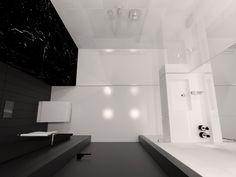 Bathroom design 5,02m2 Apartment 64m2, Warsaw, Poland www.artandarchitecture.pl