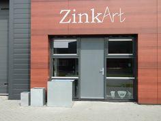 Voorgevel ZinkArt shop Drachten