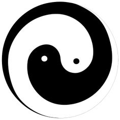 Encompassing Everything in the Universe This symbol, which most people have seen in a variety of contexts, pares things down to one clear and elegant image. As far as symbols go, it just doesn't ge...