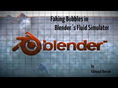 How to fake bubbles in Blender - YouTube