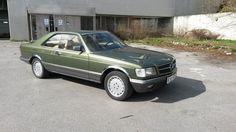 Mercedes-Benz S-Klasse 500 SEC 1982, 210 000 km, kr 76 538,-