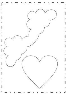 5 ideias de lembrancinhas de festa infantil para fazer em casa com moldes - Como Fazer Felt Diy, Felt Crafts, Diy And Crafts, Crafts For Kids, Felt Patterns, Stuffed Animal Patterns, Baby Room Decor, Unicorn Party, Stencils