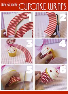 how to make cup cupcakes