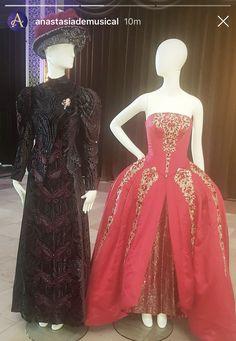 Anastasia Costume, Anastasia Broadway, Anastasia Musical, Non Disney Princesses, Broadway Costumes, Disney Movies, Fun Stuff, Theatre, Ball Gowns