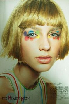 Mary Quant / THE NEWEST NEON