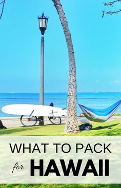 What to pack for Hawaii vacation and put on your Hawaii packing list, whether it's Oahu, Maui, Kauai, or the Big Island for a week or month! Pack beach outfits and hiking gear! Vacation packing list to prep for the best beaches, snorkeling, swimming, hikes! Travel tips on a budget and for luggage, vacation ideas for things to do in Oahu, Waikiki, North Shore, USA travel destinations for world bucket list! #hawaii #traveltips #packingtips