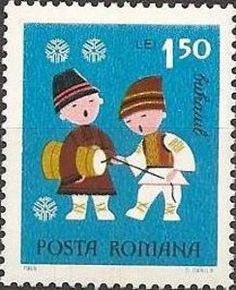 """ルーマニア、1969年の""""お年玉切手"""""""