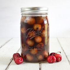 cherry infused bourbon