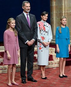 Prinses Leonor--Koning Felipe--Koningin Letizia en Prinses Sofia //the Princess of Asturias Awards Ceremony 2019
