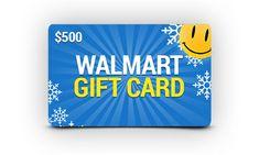 $500 Walmart GC Giveaway