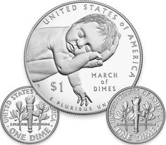 2015 March of Dimes Special Silver Set Reverse