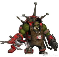 Warhammer 40k Dawn of War Ork Big Mek