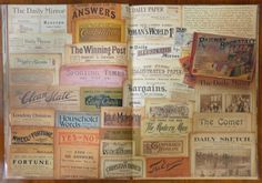 Edwardian newspapers