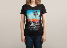 """Big Sky"" by coreyrtabor on women's t-shirts | Threadless"