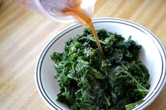 kale ohitashi recipe - delicious and healthy