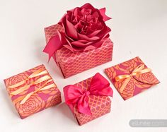 Free printable mother's day gift wrap. If I received a gift this pretty, I don't think I'd care what was inside.