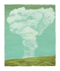 Ciarán Murphy - Volcano (2009) Volcano, Condo, Art Gallery, Texture, Mountains, Painting, Outdoor, Surface Finish, Outdoors