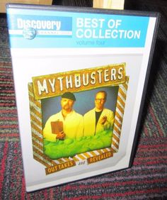 MYTHBUSTERS OUT TAKES AND REVEALED DVD, DISCOVERY CHANNEL BEST OF COLLECTION