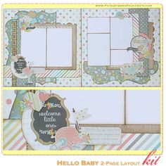 "Paisleys & Polka Dots: OCTOBER 2014 Kit Releases – ""Harvest of Memories"" Mini Album & Scrapbook Layout Kits, & ""Hello Baby"" Scrapbook Layout Kit Scrapbook Layout Sketches, Scrapbook Templates, Scrapbooking Layouts, Owl Templates, Applique Templates, Applique Patterns, Kids Scrapbook, Mini Scrapbook Albums, Scrapbook Paper Crafts"