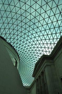 Tessellated roof - British Museum, London