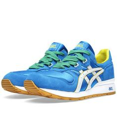 Asics Gel Epirus 'Brazil' (Mid Blue & White) Made specifically for the 2014 World Cup | Summer sneakers