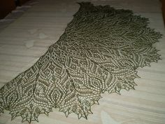 Ravelry: Soli Deo Gloria Lace Shawl pattern by Anna Victoria