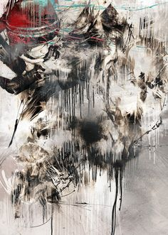 icono Cero: Oficio plástico, La furia de Russ Mills. #paintings #contemporaryArt #abstractArt