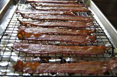 Baked Bacon. Fed a crowd at MOPS!