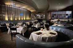 contemporary restaurant design photos | Upscale Fine Dining Restaurant Hospitality Interior Design of Cask 63 ...