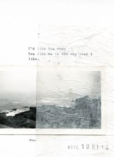 Anita Sto , LEFTLOVERS. 2013, Typed words and photograph on card