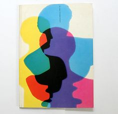 this stunning cover is for a 1954 catalogue presenting the works of kunstgewerbeschule zürich students. Book Cover Design, Book Design, Bauhaus, Johannes Itten, Best Book Covers, Oui Oui, Elements Of Art, Graphic Design Posters, Psychedelic Art