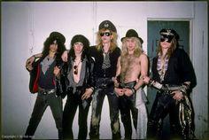 GNR Steven Adler  Slash  Izzy Stradlin  Duff McKagan  Axl Rose