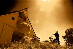 Photo Contest Finalist - Storing hay the old-fashioned way