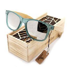 Hot Selling Women's Famous Brand Bamboo Wood Sunglasses Original Traveler Tortoise-shell sunglasses in Gift Box - My Trend Shoppe