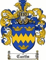 Curtis Family Crest / Curtis Coat of Arms