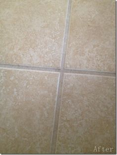 How to Clean Grout w/out chemicals