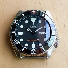 Seiko Mods - DLW Watch Modification Part - Ceramic bezel insert for Seiko SKX007 SKX009 SKX011