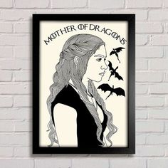 Poster Game of Thrones - Daenerys - comprar online