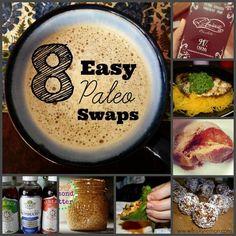 8 Easy Paleo Swaps