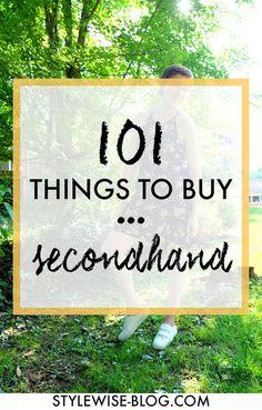 Things to Buy Secondhand 101 things to buy secondhand thredup things to buy secondhand thredup stylewise-