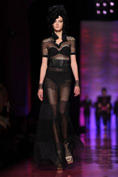 Jean Paul Gaultier: Runway - Paris Fashion Week Haute Couture S/S 2012
