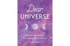 Dear Universe - by Sarah Prout (Hardcover) Little Books, Good Books, Sarah Prout, Feeling Lost, Popular Books, Writing Styles, Words Of Encouragement, Cute Cards, Law Of Attraction